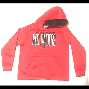 Youth Texas Tech Red Raiders Hoodie Large